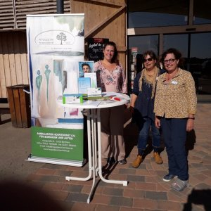 Informationsstand beim Biohof Bursch - 21. September 2019